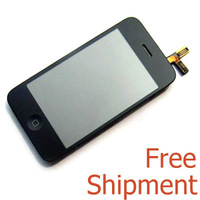 Replacement Original OEM Full Assembly LCD Display Screen Touch Digitizer  for Iphone 3GS BLACK