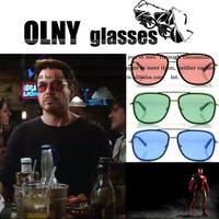 IRON MAN 3 Matsuda Sunglasses men brand designer Metal Frame sunglasses With Box Case Bulk Wholsale 20pcs/Lot Free Shipping