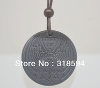 FREE SHIPPING 2013 New Design angle shekinah high ions scalar energy pendant wih energy card box