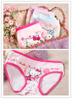 Panties  baby  gril pants underwear shorts kids briefs wholesale hello  panties  kitty clothes free shipping 6pcs/lot  813A