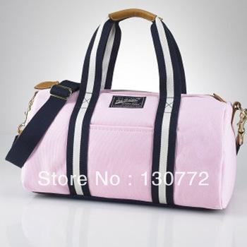 POLO shoulder leisure bag men business handbag large canvas color package women Sport fashion bags Free Shipping