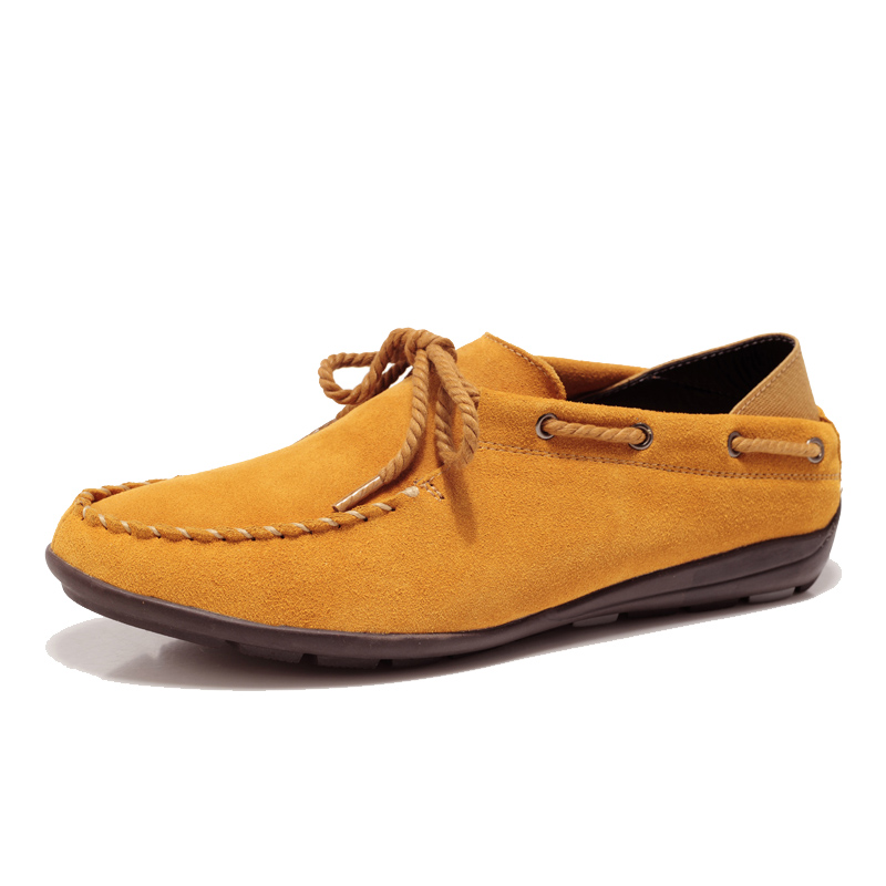 2013 Autumn Fashion Mens Boat Shoes Genuine Leather Flats For Men