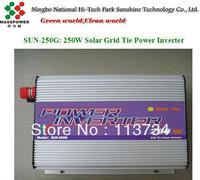 Hot sale!  250W Solar Grid Tie Power  Inverter,MPPT,factory wholesale,MOQ 5 PCS,on discount, good quality!