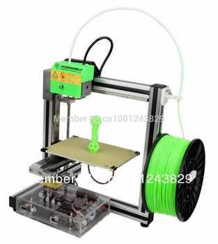 Freeshipping +3D printer (HOFI ) +1KG ABS + 1 year Quality assurance + 24.5mm linear guide rail