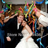 Free shipping New arrival multicolour 30cm ribbon magic wand fairy stick fashion wedding supplies