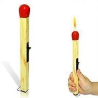 18cm Cigarette Flame Lighters Cool Match Design Gas Lighter Smoking Accessories Chianbestmall