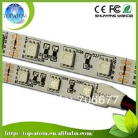 Free Shipping, 5m/roll/bag, P44, 60 leds/m, DC12v 24v, Single line RGBW LED Strip