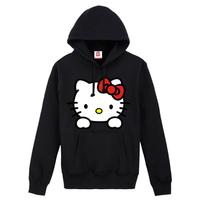 freeshipping / hot selling Cute hello kitty autumn-summer Hoodies the sports suit sweatshirts women's coats