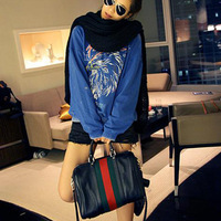 2014 Newest Style Hot Sale European And American Design High Quality Women Tote Bag Ladies Bucket bag