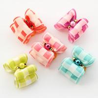 dreambows Handmade Small dog accessories Retro plaid ribbon Ribbon Bow 22020 Collar bow tie, Teddy Dog Supplies, Free Shipping.