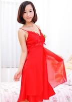2013 New style Ladies' harness pajamas set silk nightwear home clothing high quality silk  JZY-2008 Freeshipping