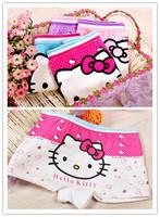 Panties  baby  pants children underwear  shorts girl boxer wholesale hello  panties  kitty clothes free shipping 6pcs/lot 8125