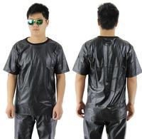 hey guys Python snakeskin crocodile leather men zipper pure black short sleeve T-shirt tee