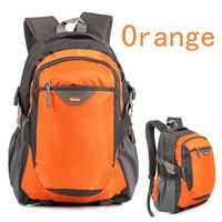 Hot sale 2013 High-capacity Nylon Men and Women Sports Travel Bag Shoulders Bag School Luggage & Bags backpack orange,green