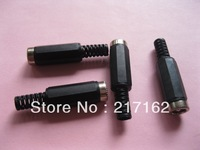250 Pcs DC Power Female Jack 5.5x2.5mm Connector Adapter Plastic Handle Brand New High Quality HOT Sale