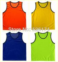 High Quality  football training vest, soccer training jerseys, sports training kits, soccer shirts scrimmaging