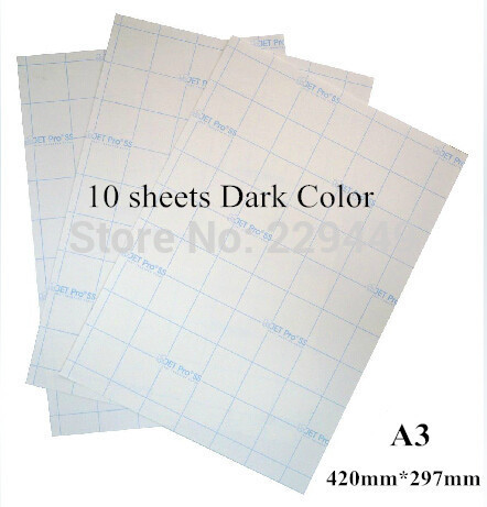 whole sale !! A4 heat/laser Transfer paper for a4 light t-shirt/ a4 white paper cloth(China (Mainland))