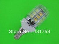 2014 Limited Rushed Freeshipping 220v Lamps E14 3000-6500k 360-lumen 30 X 5050 Smd Led Warm White, Light Bulb (200v-240v/ac)