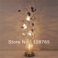 Flower decorative modern home goods table lamps