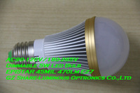 High Quality E27 Epistar 45MIL 660lm Dimmable 5W LED Bulb Light Free Shipping