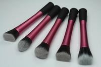 Big Discount! 5pcs Powder Blush Foundation Contour Makeup Brushes Set Cosmetic Tool  Free Shipping