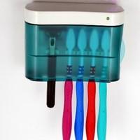 Household toothbrush sterilizer uv ultraviolet toothbrush sterilization box toothbrush holder sterilization machine