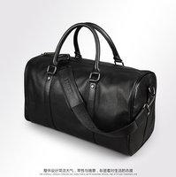 men's travel bags travelling bags Large capacity tote genuine leather shoulder bag duffle