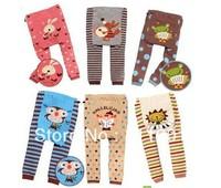 1pcs / Lot  NEW Arrival  20 Style  Leggings For Kids  Child Pants Unisex   PP Pants Long Trousers Cartoon Legging Cotton Baby
