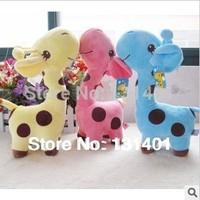 Free shipping  sika deer doll  plush toys birthday present toys for children kawaii plush giraffe plush SIZE ABOUT 19CM