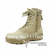 SWAT Outdoor Camping Specialist Boots,Desert Army Boots Shoes Plus size Free Shipping