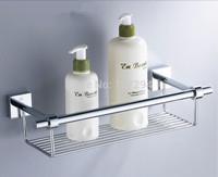 Copper bathroom shelf accessories chrome plated bathroom accessories set 34.6cm