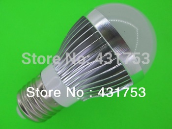 2014 New Arrival New Ccc Ce Rohs Lamps E27 Led Bulb Lamp Ac85 - 265v Dimming Bubble Warm / Cool , 3 * + Free Shipping