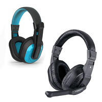 Cosonic Stereo Headphone with Microphone Computer Gaming Headset Earphone Free Shipping