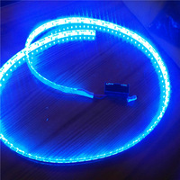 Battery Led Strip Light Band Clothes Diy Personalized  Highlight RGB Led Strip Waterproof 1 Meter Flashlight