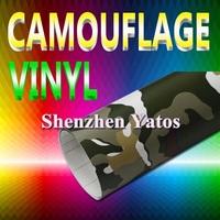 Camouflage Car Sheet 1.52*30M Air Bubbles