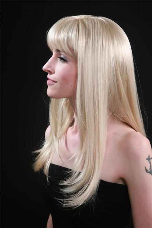 Long Platinum Blonde Wig Human Hair Long Platinum Blonde Hair