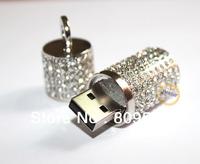 Fashion Unique Deisgn Memory Flash Pendrive 1GB 2GB 4GB 8GB 16GB 32GB Thumb Stick crystal Lipstick Style