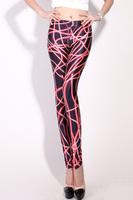 Newest Leggings Fashion 2013 For Ladies Lighting Galaxy Print Black Milk Leggins Women's Legging