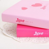 365 lovers the schedule diary notepad hard skin