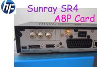 Fedex free shipping Sunray SR4 Sunray 800SE SIM a8p Triple Tuner DVB-S/C/T2 300mbps Wifi Internal Satellite Receiver At Stock