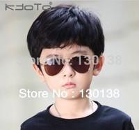 Wholesale Free Shipping,Hot 2014 Classic baby Child large Sunglasses Cool Child glasses  Fashion Kid grils/baby boy eyewear
