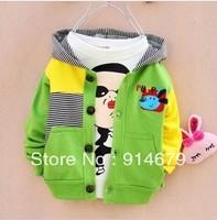 Free 2013 children autumn new children's clothing boy cardigan coat joker child cardigan
