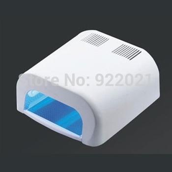 Free shipping :2014 High quality 36W UV Nail Dryer - 36w nail uv lamp voltage 100V ~240V /36w LED UV Lamps