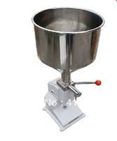 High quanlity Manual Cream filler(5~50ml)+stainless steel+small filler+home filler+vial filling
