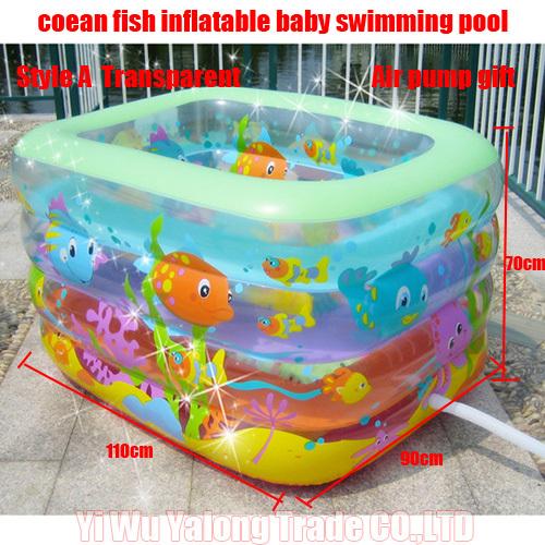 Tinas De Baño Oceanic:de peces del océano pv inflable tina de baño de regalo tamaño de
