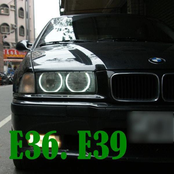 For BMW E36 E39 Waterproof CCFL headlights angel eyes 7000K white(Taiwan)