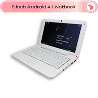 "Newest 9"" VIA 8850 Netbook VIA 8850 1G RAM 4GB ROM 1.2GHz HDMI Camera Notebook mini Laptop Portuguese Spanish Russian Keyboard"