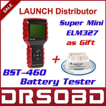 New Launch BST-460 Battery System Tester BST460 English / Russia Language suitable for 6V 12V 24V battery system BST 460