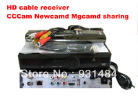 2pcs / lot Digital cable receivers hd set top box kadibo q5 1080i Network sharing CCCam NewCamd server