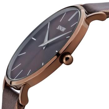 2013 China Brand New Sinobi Quartz Watch Ultra-thin Brief  Version of unisex table pure flat mirror watch male Christmas Gift